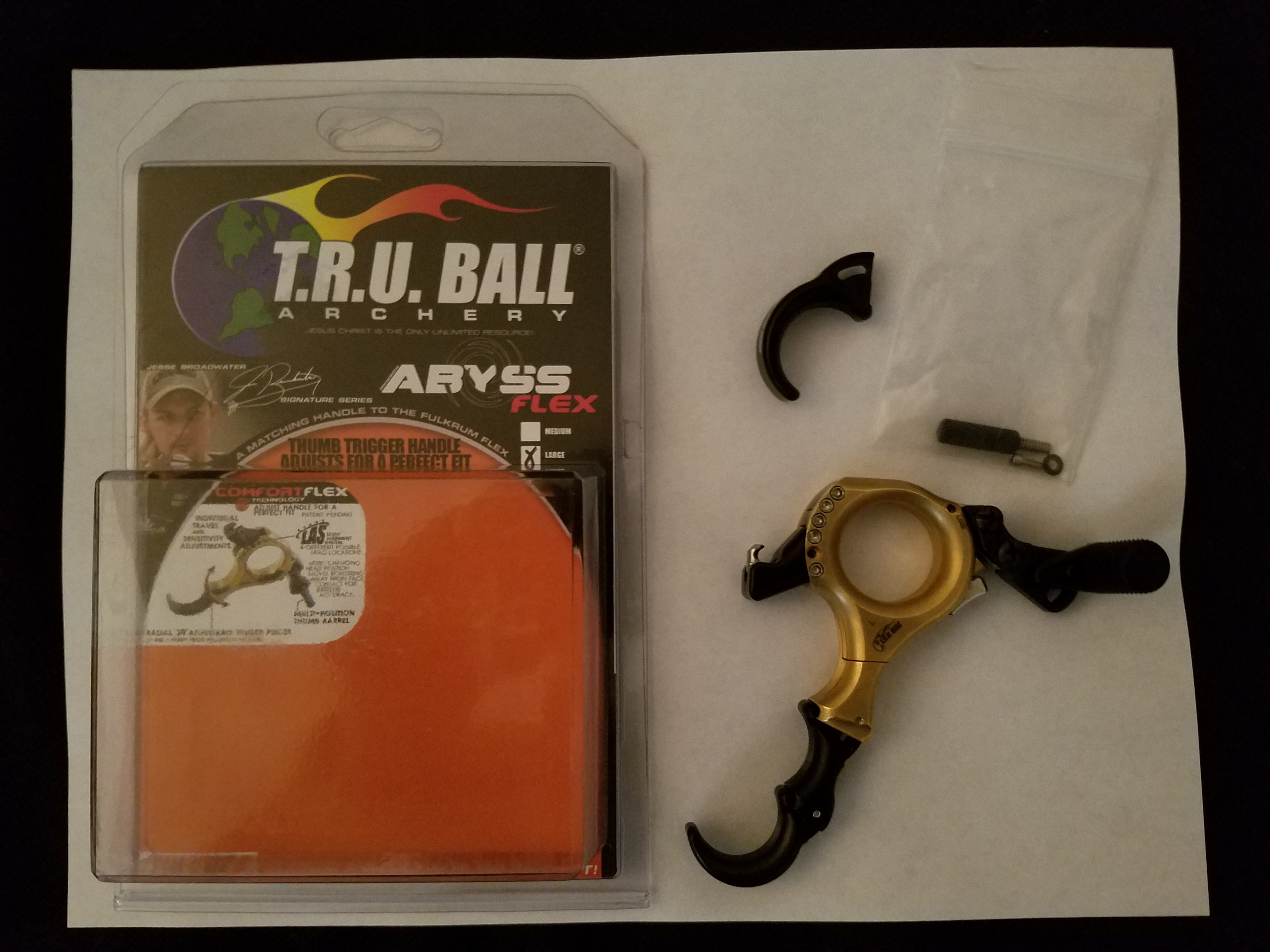 Truball Abyss Flex-Whats in the package